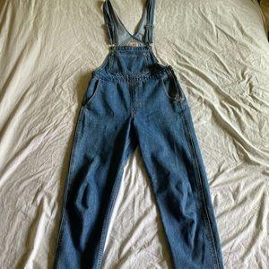 Levi's denim overalls